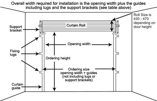 Steel roller door gliderol steel roller garage doors non for 2 door garage door size