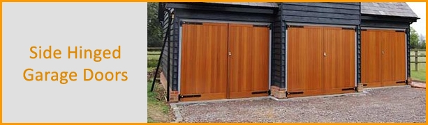 Side Hinged Garage Doors Industrial Commercial