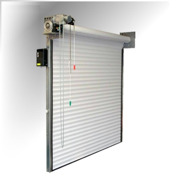 Seceurodoor 95 Direct Drive Samson Steel Roller Shutters