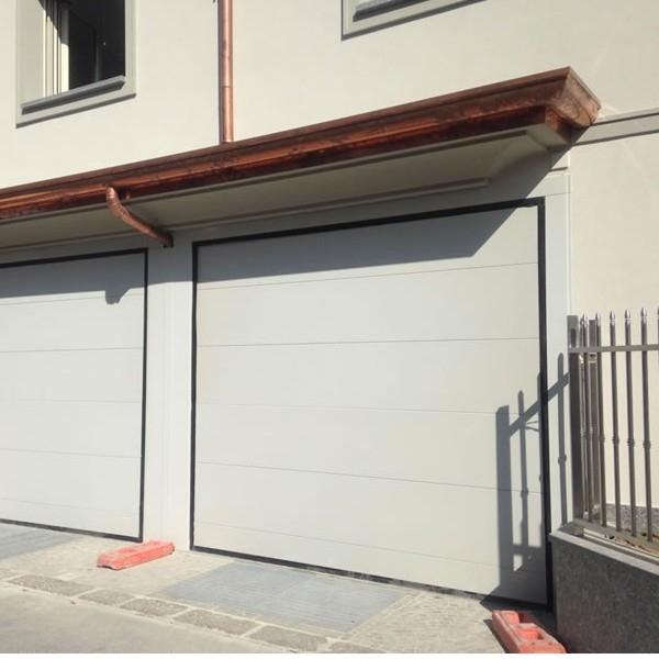 Ordinaire Delta Air Woodgrain Finish Delta Steel Overlap Trackless Garage Doors |  Samson Doors Online Shop