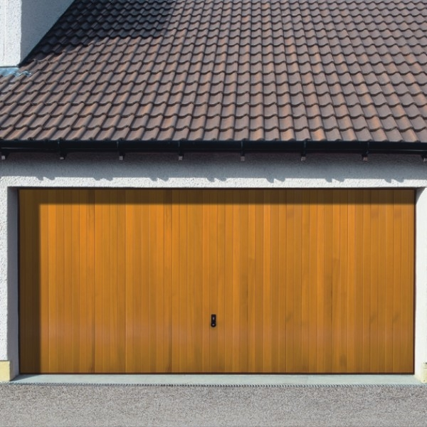 Vertical cedar garador timber up and over garage doors for Cedar wood garage doors price
