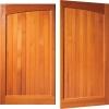 woodrite chartridge panelled window timber side hinged garage door