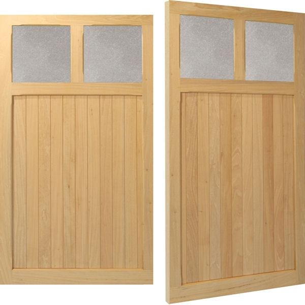 Hatton Woodrite Timber Side Hinged Garage Doors Samson Doors