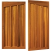 woodrite quainton wooden timber side hinged garage door for the home