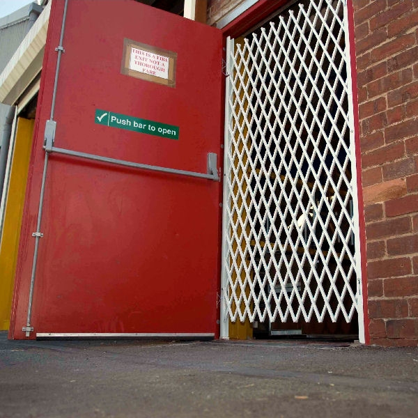 Xpanda Double Diamond Emergency Exit Saftidor Sws Steel Security