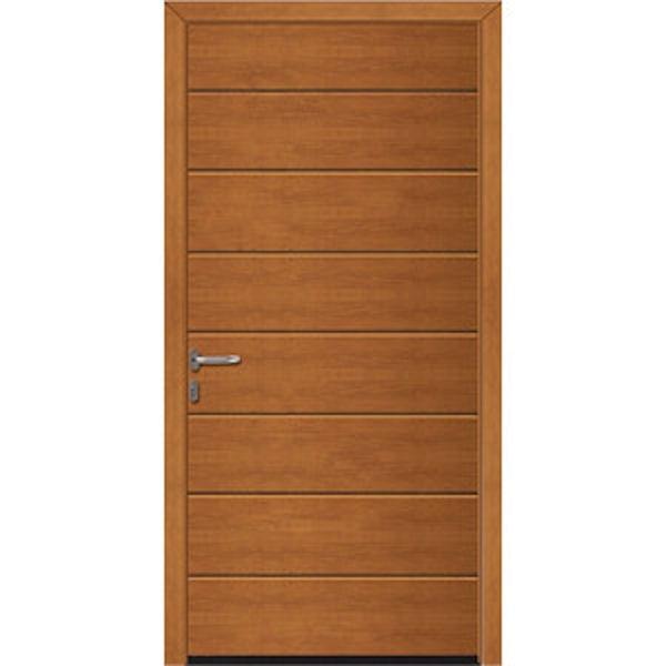 Hormann Nt60 M Ribbed Decograin Pedestrian Doors With