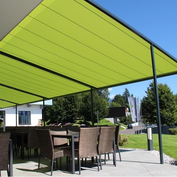 Cover Terrace: Pergola 110 Coupled Markilux Fabric Retractable Terrace