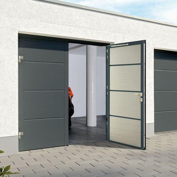 Hormann Steel Side Hinged Garage Doors, How To Insulate Garage Door Uk