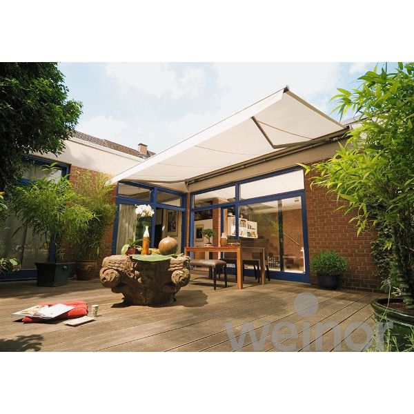 Weinor Topas Electric Retractable Awning (with hood ...
