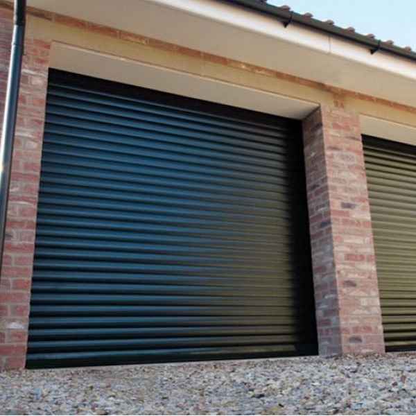 Roller Door With Half Hood And Colour Paint Finish Gliderol